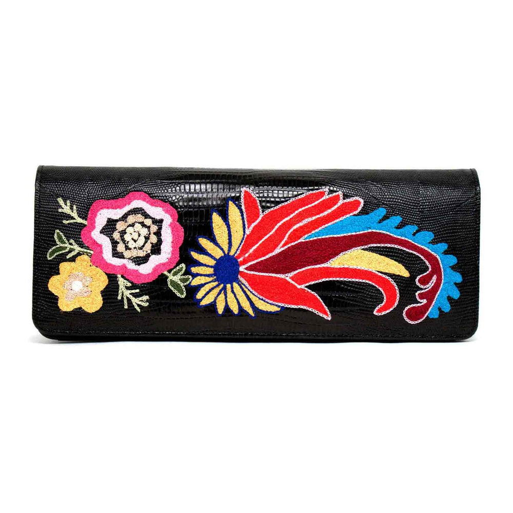 'Monaco' Inscription Evening Bag