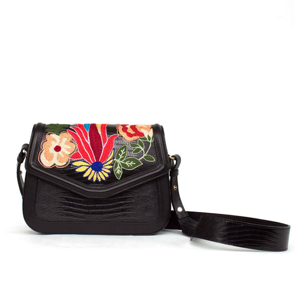 'Portofino' Inscription Crossbody