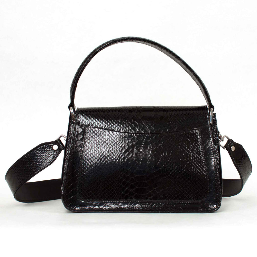 'Versailles' Inscription Shoulder Bag