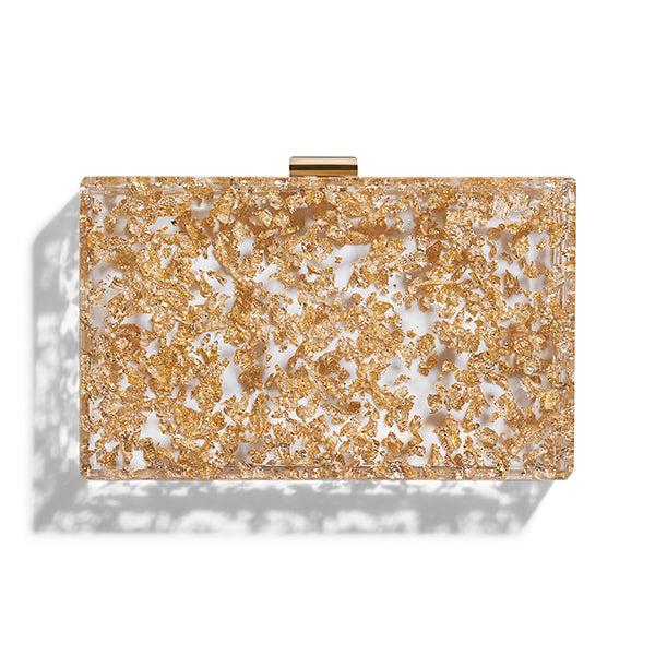 Le Gold Clutch