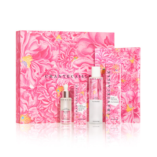 all John Derian x Chantecaille Rose de Mai Harvest Set