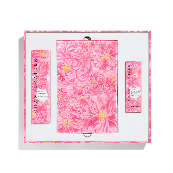 all John Derian x Chantecaille Rose de Mai Harvest Set hoverimage