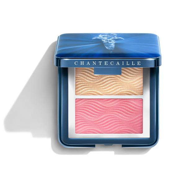 Radiance Chic Cheek and Highlighter Duo - Rose Whale Shark