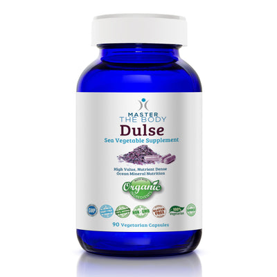 Certified Organic Dulse Capsules!    NOW FREE SHIPPING ON ANY QUANTITY!
