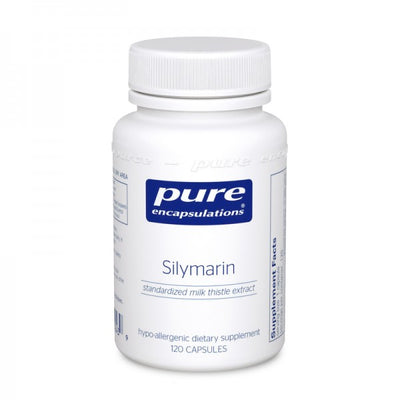 Silymarin (milk thistle) 120 capsules by Pure Encapsulations