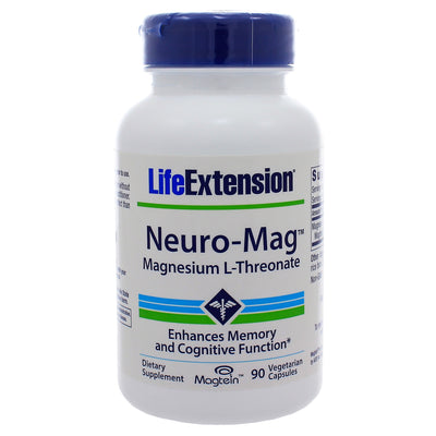 Neuro-Mag Magnesium L-Threonate by Life Extension 90 veg. capsules