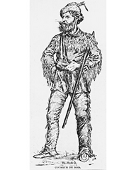 French fur trader wearing leggings to keep warm - Rising Star Leggings