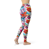 Be Fit Tattoo Fish and Flowers - Rising Star Leggings