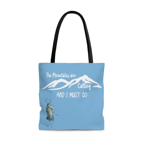 The Mountains are Calling Tote Bag - Rising Star Leggings