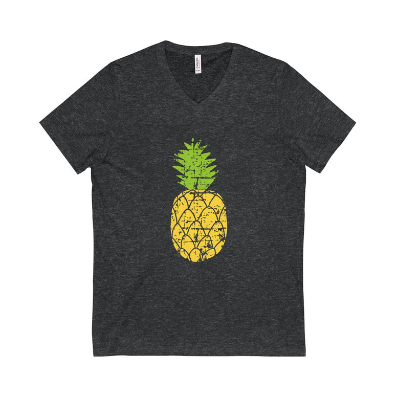Pineapple Short Sleeve V-Neck Tee - Rising Star Leggings