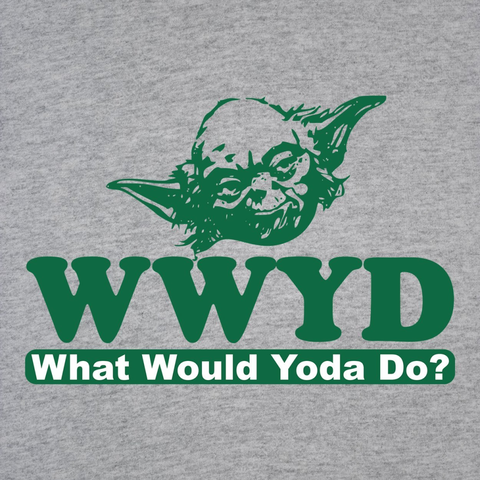 What Would Yoda Do T-Shirt - Rising Star Leggings