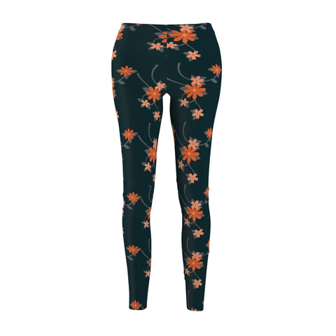 Be Sporty Orange Flowers - Rising Star Leggings