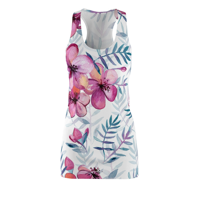 Soft Flowers Racerback Dress - Rising Star Leggings