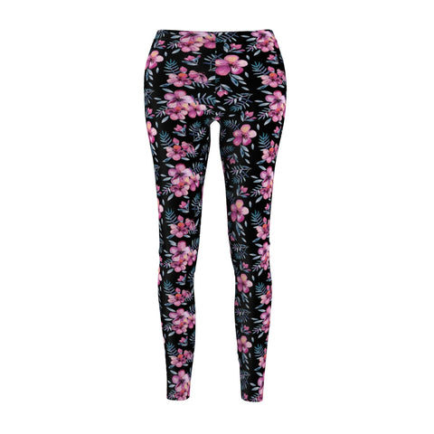 Night Flowers Leggings - Rising Star Leggings