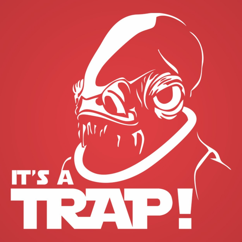 It's A Trap T-Shirt - Rising Star Leggings