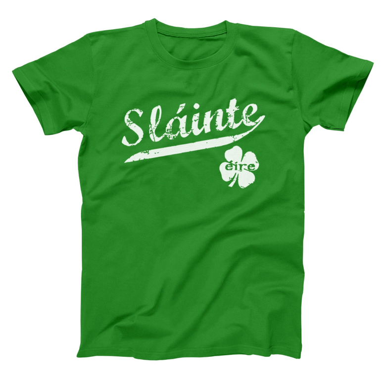 Slainte Irish Cheers T-Shirt - Rising Star Leggings