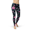Be Active Night Flowers Leggings - Rising Star Leggings