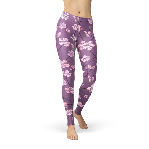 Be Comfy Pretty Purple Leggings - Rising Star Leggings