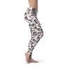 Be Fit  Modern Squares - Rising Star Leggings
