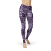 Be Fit Purple Lace - Rising Star Leggings