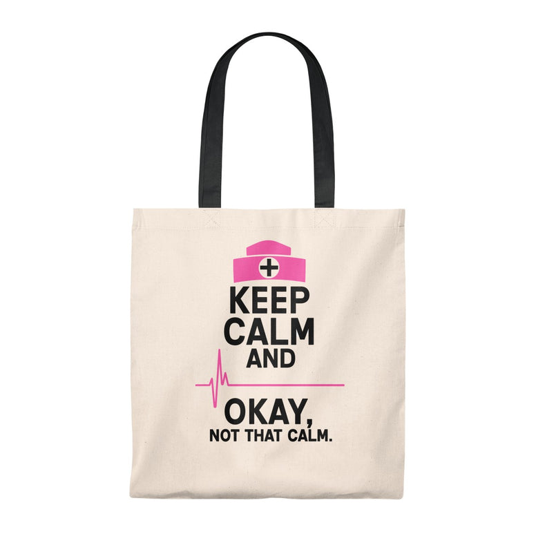 Keep Calm Nurses Tote Bag - Rising Star Leggings