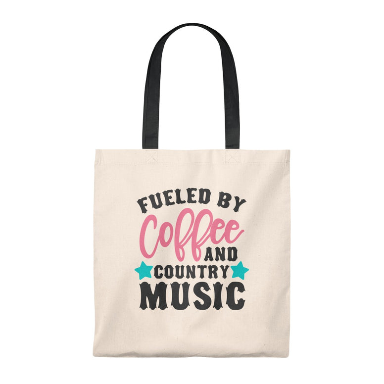 Coffee and Country Music Tote Bag - Rising Star Leggings