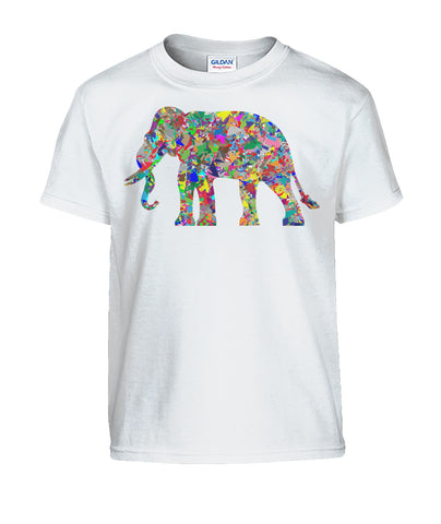 Kids Elephant Prism T-Shirt - Rising Star Leggings