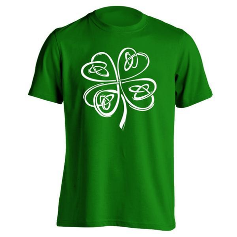 Irish Shamrock Clover T-Shirt - Rising Star Leggings