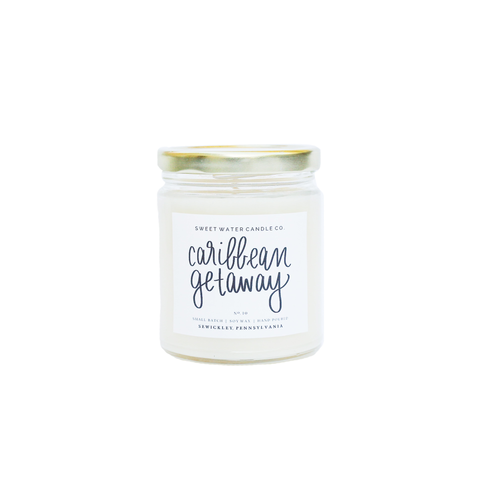 Caribbean Getaway Soy Candle - Rising Star Leggings