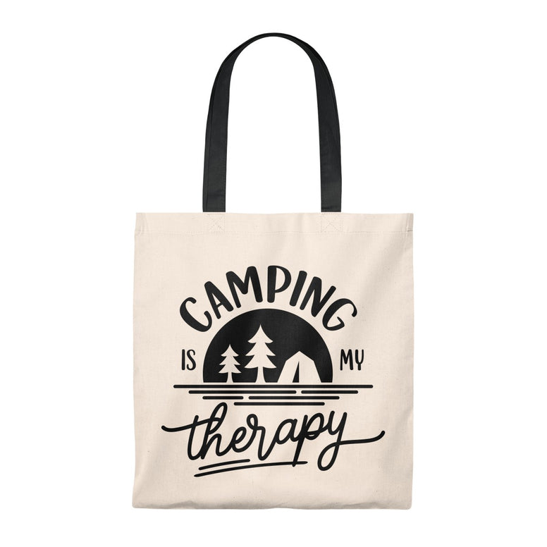 Camping is My Therapy Tote Bag - Rising Star Leggings
