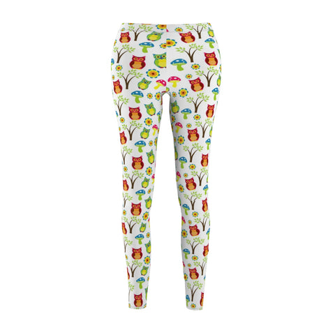 Cute Owl Leggings - Rising Star Leggings