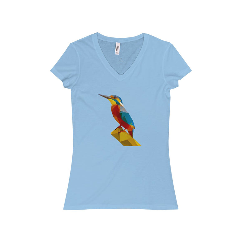Kingfisher V-Neck Tee - Rising Star Leggings