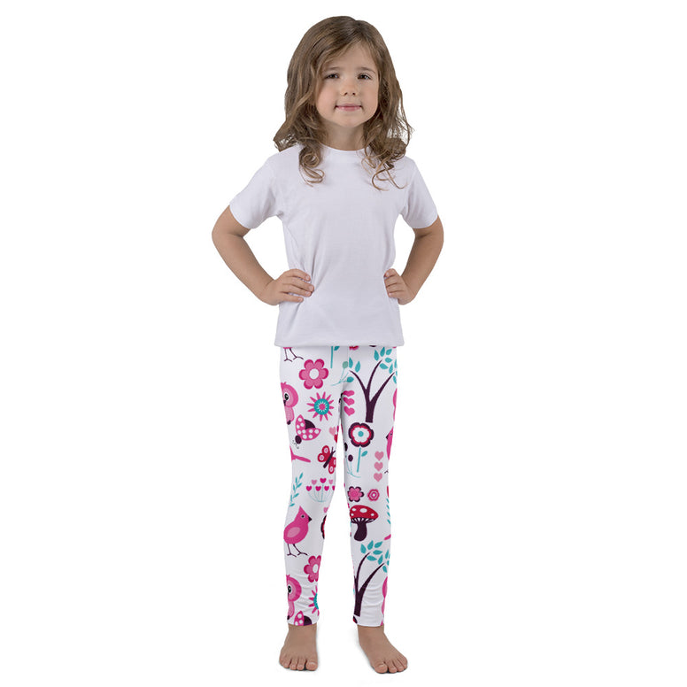 Pink Owls Kid's leggings - Rising Star Leggings