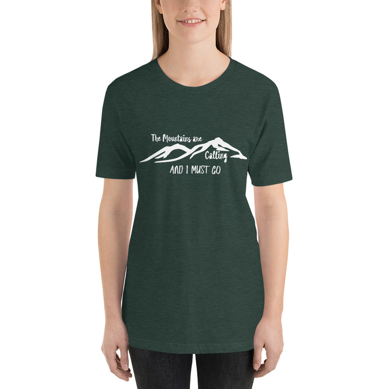The Mountains are Calling T-Shirt - Rising Star Leggings