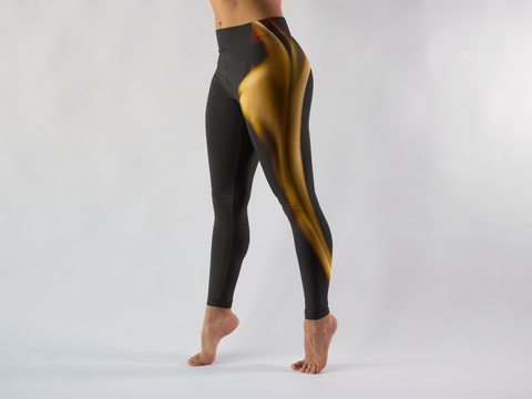 Be Active Flame Leggings - Rising Star Leggings