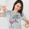 Workout for Wine T-Shirt - Rising Star Leggings