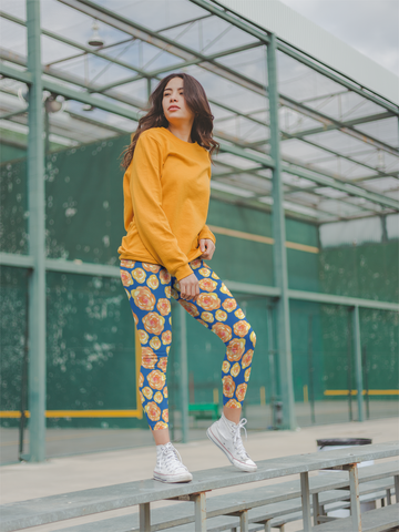 Be Comfy Sunny Day Leggings - Rising Star Leggings