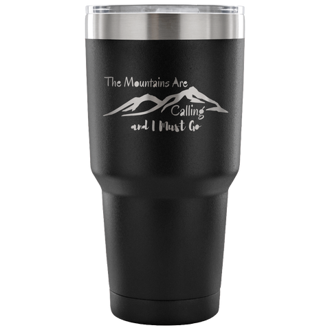 The Mountains are Calling Vacuum Tumbler - Rising Star Leggings
