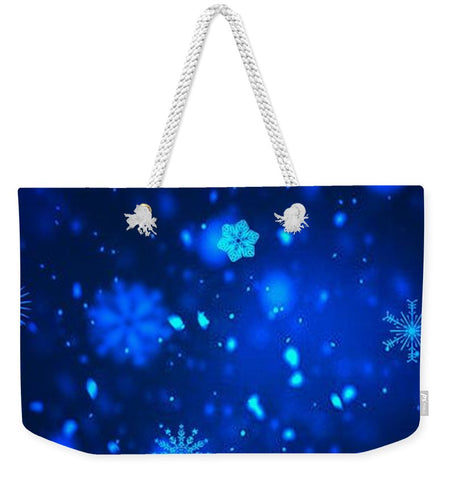 Snowflakes - Weekender Tote Bag - Rising Star Leggings