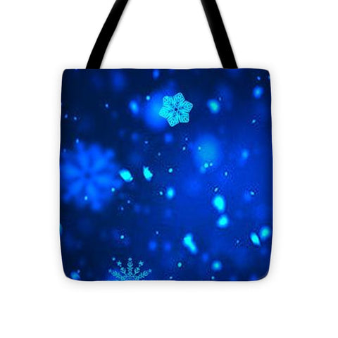 Snowflakes - Tote Bag - Rising Star Leggings