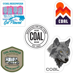 Coal Sticker Pack