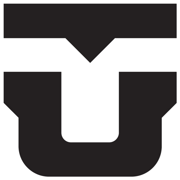 Union U Black Diecut