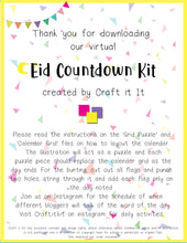 Virtual Eid Countdown Kit