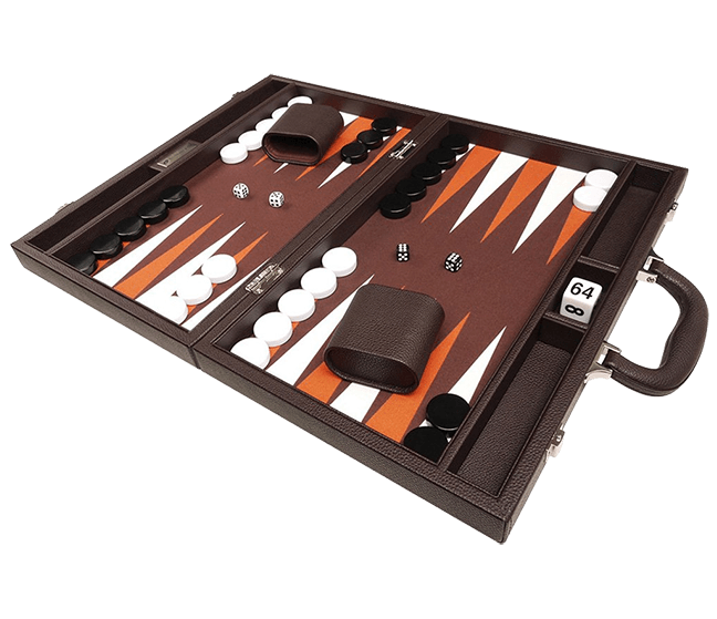 Set di backgammon premium di Silverman & Co.