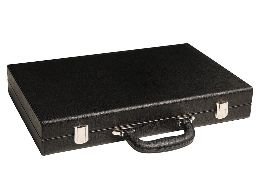 Closed leatherette case
