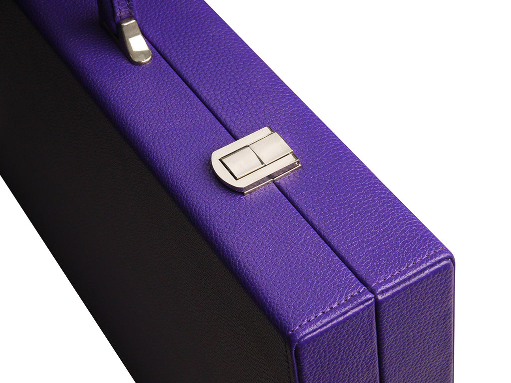 19-inch Premium Backgammon Set - Purple - American-Wholesaler Inc.