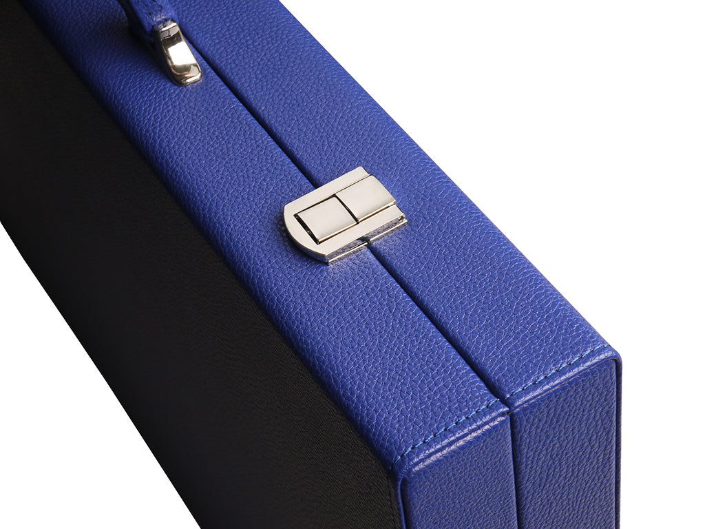19-inch Premium Backgammon Set - Indigo Blue - GBP - American-Wholesaler Inc.
