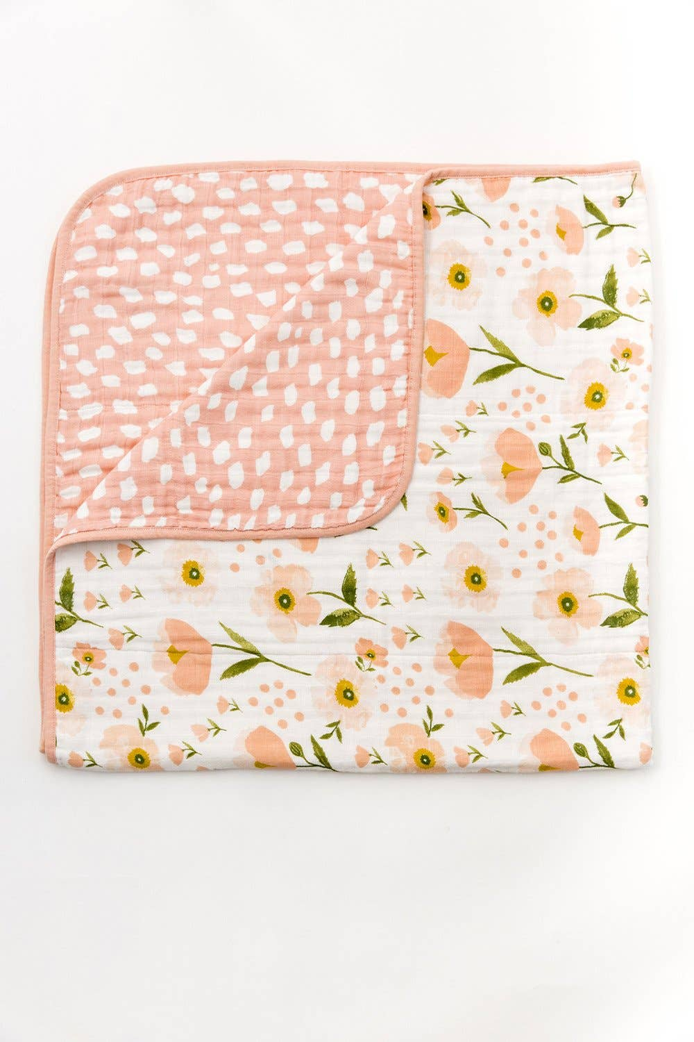 Clementine Kids - Blush Bloom Reversible Quilt