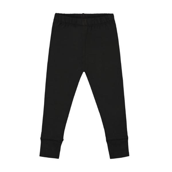 Nearly Black Organic Leggings