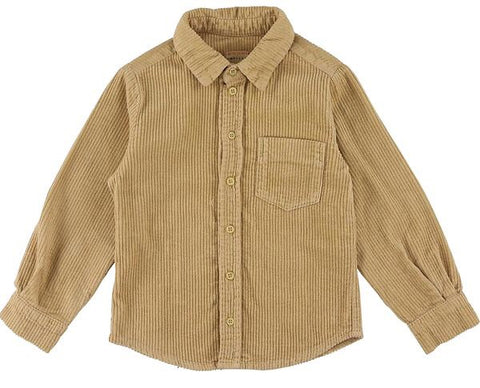 Benjamin Light Corduroy Shirt - Deer
